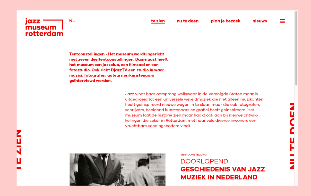Loes Sikkes Jazz Museum Rotterdam